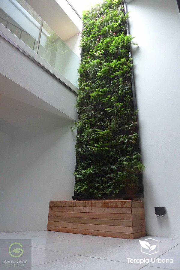 Jard n vertical interior wellington close terapia urbana - Jardin vertical interior ...