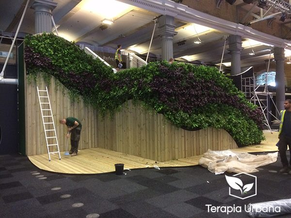 Jard n vertical interior en billingsgate terapia urbana for Jardin vertical interior