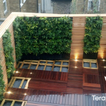Jardín vertical en vivienda privada en Pear Tree st. (Londres)