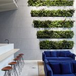 Striped Indoor Living Walls at 200 Gray's Inn Road