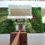 Jaguar Land Rover Living Wall installed at Sunbury in London