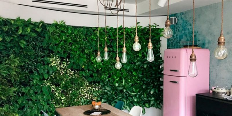 indoor living wall fytotextile